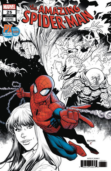 Marvel Comics Amazing Spider-Man #25 Limited to 4000 Comic Book [Ryan Ottley SDCC 2019 Variant Cover]