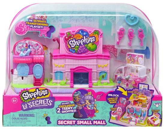 Shopkins Lil' Secrets Secret Small Mall Playset