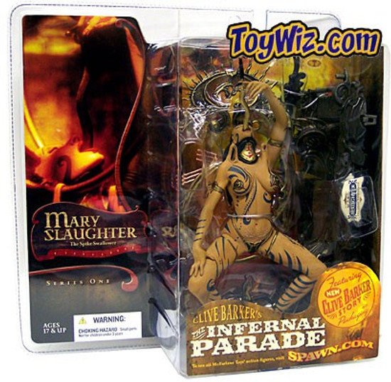 McFarlane Toys Clive Barker's The Infernal Parade Mary Slaughter the Sword Swallower Action Figure