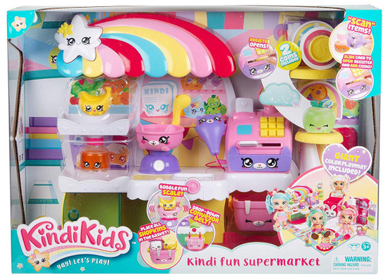 Kindi Kids Kindi Fun Supermarket Playset
