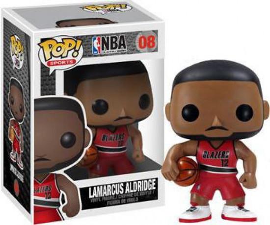 Funko NBA POP! Sports Basketball Lamarcus Aldridge Vinyl Figure #8 [Damaged Package]