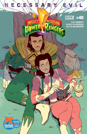 Boom Studios Mighty Morphin Power Rangers #40 Necessary Evil Exclusive Limited to 3000 Comic Book [Previews Exclusive SDCC 2019]