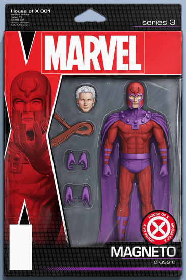 Marvel Comics House of X #1 Comic Book [Christopher Action Figure Variant Cover]