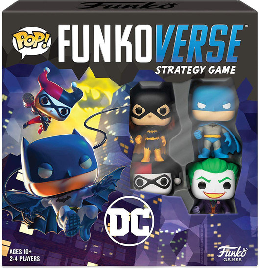 DC POP! Funkoverse 100 Strategy Board Game Base Set
