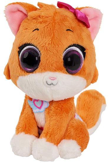 Disney Junior TOTS (Tiny Ones Transport Service) Mia The Kitten 6-Inch Mini Bean Bag Plush