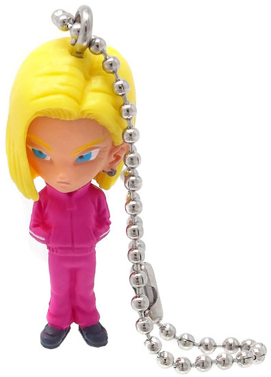 Dragon Ball Super UDM The Best Mix 02 Android 18 1.5-Inch Keychain Clip-On