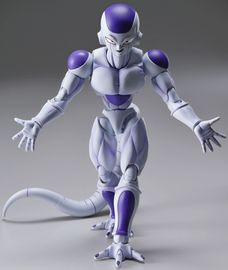 Dragon Ball Z Figure Rise Frieza 5-Inch Model Kit [New Package Design]