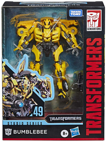 Transformers Generations Studio Series Bumblebee Deluxe Action Figure #49 [Movie Chevy]
