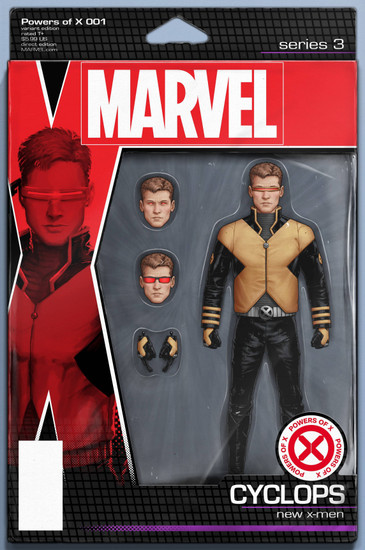 Marvel Comics Powers of X #1 Comic Book [Christopher Action Figure Variant Cover]