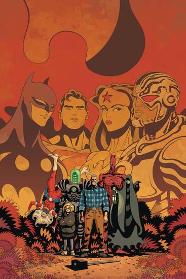 Dark Horse / DC Comics Black Hammer Justice League #3 of 5 Comic Book [Julian Totino Tedesco Cover D]