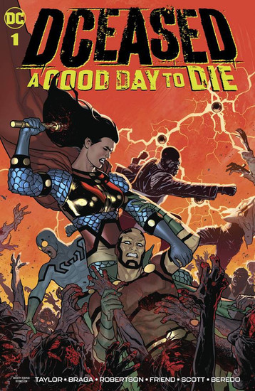 DCeased #1 A Good Day to Die Comic Book