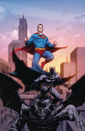 DC Batman Superman #2 Comic Book [Jerome Opena Variant Cover]