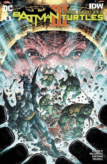 DC Batman / Teenage Mutant Ninja Turtles III #5 of 6 Comic Book