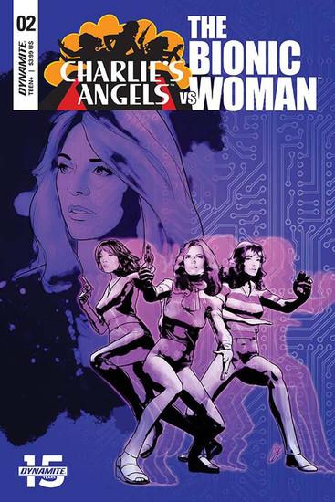 Dynamite Entertainment Charlie's Angels Vs Bionic Woman #2 Comic Book