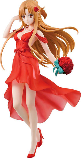 Sword Art Online Ichiban Asuna 7.9-Inch Collectible PVC Figure [Party Dress]