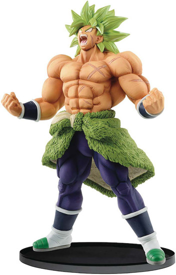 Dragon Ball Super: Broly World Figure Colosseum 2 Special Broly 7.5-Inch Collectible PVC Figure