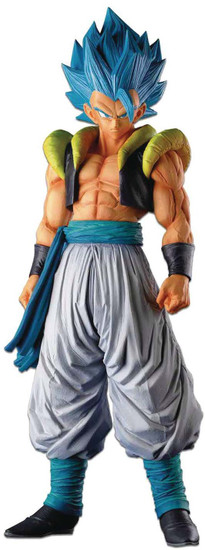 Dragon Ball Z Super Master Stars Super Sayian Blue Gogeta 13.3-Inch Collectible PVC Figure (Pre-Order ships November)