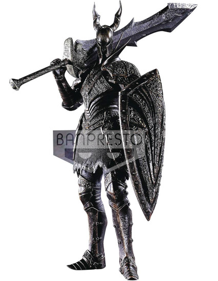 Dark Souls DXF Sculpt Collection Black Knight 7.8-Inch PVC Figure Vol.3 [Damaged Package]