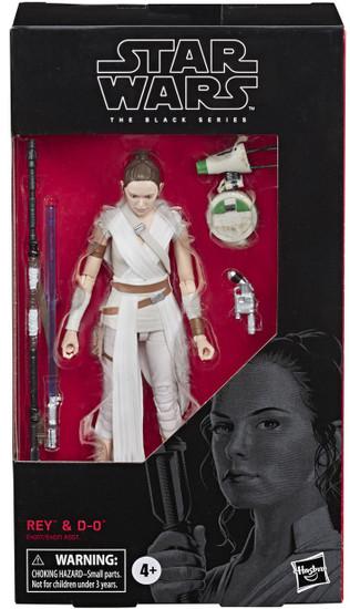 Star Wars The Rise of Skywalker Black Series Wave 33 Rey & D-O Action Figure