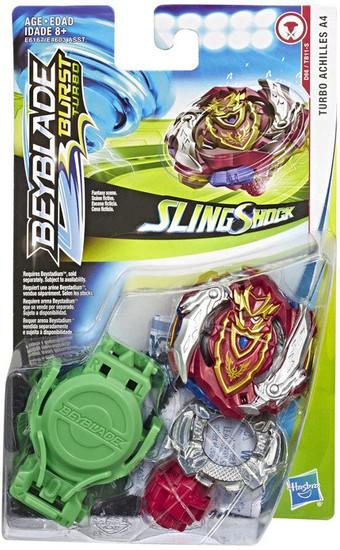 Beyblade Burst Turbo Slingshock Turbo Achilles A4 Starter Pack