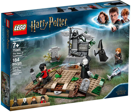 LEGO Harry Potter and The Goblet of Fire The Rise of Voldemort Set #75965