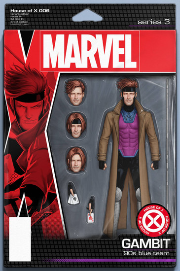 Marvel House of X #6 Comic Book [Action Figure Variant Cover]