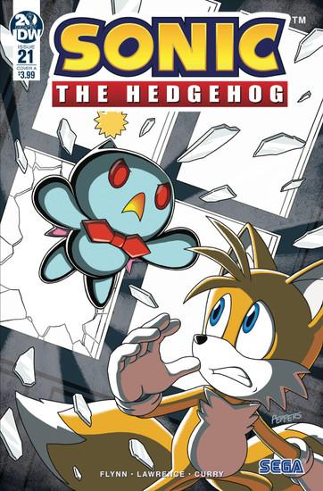 IDW Sonic The Hedgehog #21 Comic Book