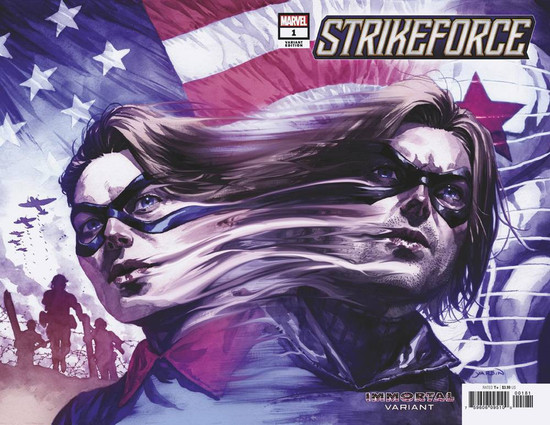 Marvel Comics Strikeforce #1 Comic Book [David Yardin Variant Cover]