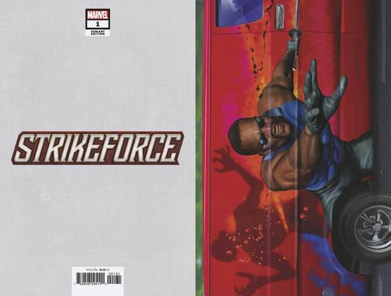 Marvel Comics Strikeforce #1 Comic Book [Greg Horn Variant Cover]