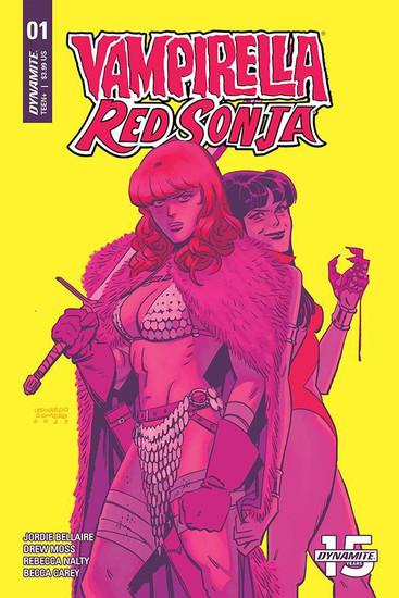 Dynamite Entertainment Vampirella / Red Sonja #1 Comic Book [Romero & Bellaire Cover D]