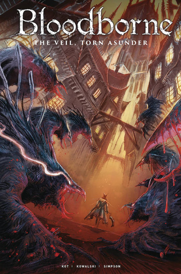 Titan Comics Bloodborne #15 The Veil, Torn Asunder Comic Book [Abigail Jill Harding Cover A]