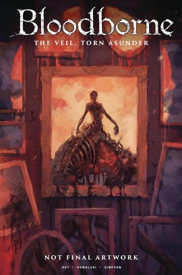 Titan Comics Bloodborne #15 The Veil, Torn Asunder Comic Book [Yoshioka Cover B]