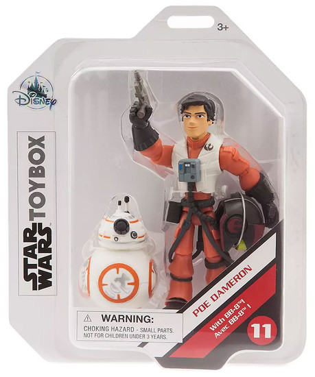 Disney Star Wars Toybox Poe Dameron Exclusive Action Figure [with BB-8]
