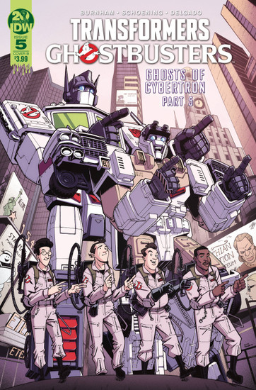 IDW Transformers & Ghostbusters #5 of 5 Comic Book [Nick Roche Cover B]