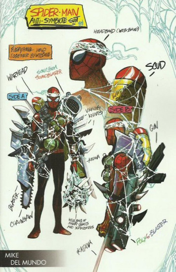 Marvel Comics Absolute Carnage #4 Comic Book [Michael Del Mundo Young Guns Variant Cover]