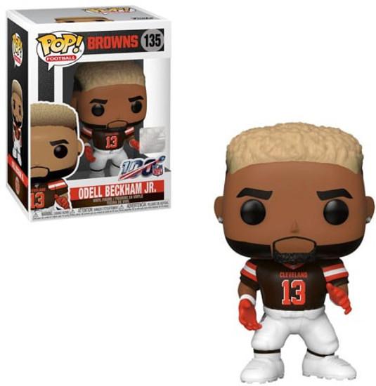 Funko NFL Cleveland Browns POP! Sports Football Odell Beckham Jr. Vinyl Figure #135 [Brown Jersey]