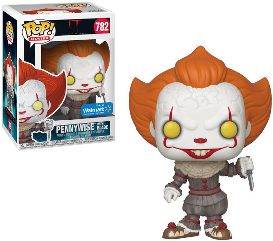 Funko IT Movie Chapter 2 POP! Movies Pennywise with Blade Exclusive Vinyl Figure #782