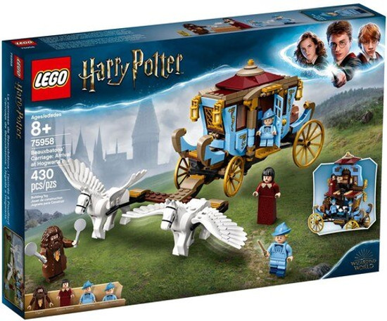 LEGO Harry Potter Beauxbatons' Carriage: Arrival at Hogwarts Set #75958