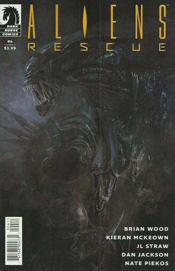 Dark Horse Aliens Rescue #4 of 4 Comic Book