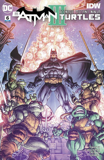 DC Batman / Teenage Mutant Ninja Turtles III #6 of 6 Comic Book