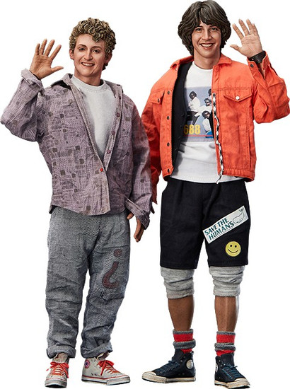 Bill & Ted's Excellent Adventure Bill & Ted Deluxe Collectible Figure Set
