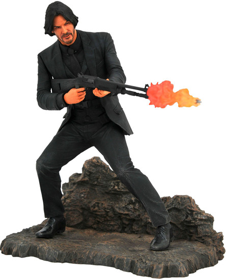 Movie Gallery John Wick 9-Inch PVC Figure Statue [Catacombs]