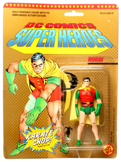 Batman DC Comics Super Heroes Karate Chop Robin Action Figure