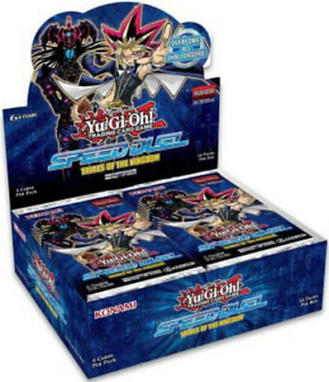 YuGiOh Trading Card Game Speed Duel Trials of the Kingdom Booster Box [36 Packs]