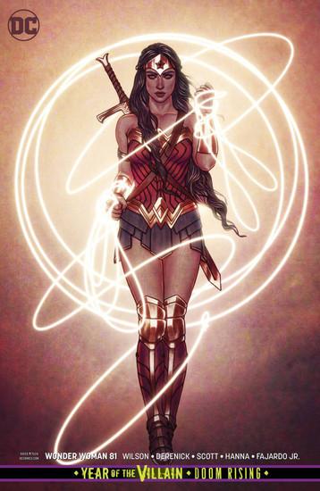 DC Wonder Woman #81 Comic Book [Jenny Frison Variant Cover]
