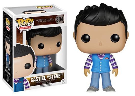 "Funko Supernatural POP! TV Castiel ""Steve"" Vinyl Figure #304 [Damaged Package]"