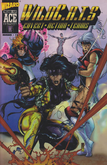 Image Comics Wild C.A.T.S Covert Action Teams #1 Wizard Ace Edition Comic Book