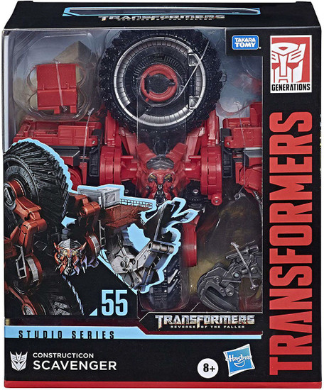 Transformers Generations Studio Series Scavenger Leader Action Figure #55 [Revenge of the Fallen]
