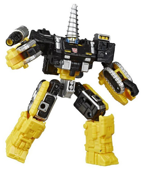 Transformers Generations Selects Powerdasher Drill Zetar Deluxe Action Figure WFC-GS08