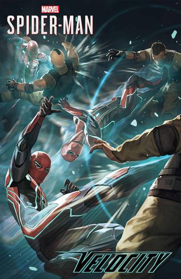 Marvel Comics Spider-Man Velocity #3 Comic Book